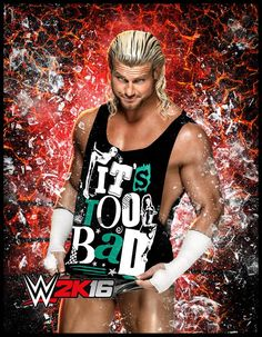 WWE 2K16 Character Art: Fotos