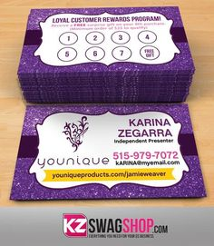 Younique Business Cards Style 7 Younique Business Younique Business Cards Younique