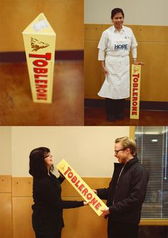 Our new friend Kris donated a 10lb Toblerone bar. What a delicious dessert! Thank you so much for your generosity.