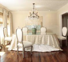 Ashley Goforth Designs - great chandelier