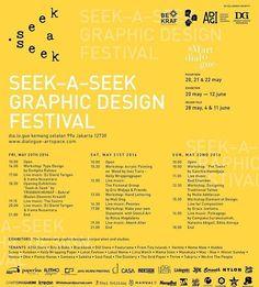 #Repost @kabaradgi  Smart Dialogue #10: Seek A Seek  Graphic Design Festival Pasar Seni & Exhibition dia.lo.gue  jl kemang selatan 99a  jakarta 12730  PASAR SENI 20 21 & 22 may 2016  EXHIBITION 20 may - 12 june 2016 Exhibitors: 70 Indonesian graphic designer corporation and studios.  DESIGN TALK 28 may 4 & 11 june 2016  Join the vibes of Indonesian graphic design celebration: Seek-A-Seek Graphic Design Festival. Seek tons of exciting programs and have the most creative weekend!  We present a…