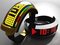 Daft Punk watch set concept by simonrance.deviantart.com on @deviantART