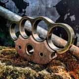 Echidna – M. R. Mayhem Brass Knuckles, Echidna, Sheer Beauty, Edc, Brown, Brown Colors, Every Day Carry