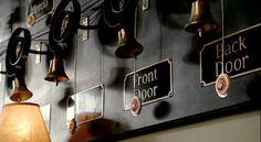 bell board - downton abbey