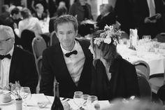 01 Oct - James sits between Anne Parillaud and Phil Davis British Film Festival, James D'arcy, Anne Parillaud