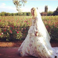 Poppy Delevigne's second wedding in Marrakesh
