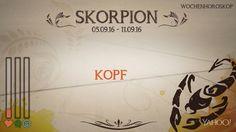 Wochenhoroskop: Skorpion (KW 36 - 2016) - So stehen deine Sterne Kinder Wochen vom 5. - 11.9.2016 #Horoskop #Skorpion #Liebe #Gesundheit #Job