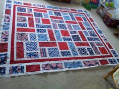 QOV #3 final border. Ready to be quilted.