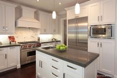 Decor Wood Kitchens offers all designs in fine custom cabinetry. With over 30 years experience in Kitchen and Bath design. Kitchen And Bath Design, Kitchen Paint, Kitchen Dining, Transitional Kitchen, Transitional Style, Custom Cabinetry, Panel Doors, Kitchen Styling, All Design