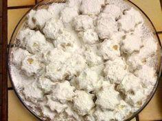Greek Desserts, Greek Recipes, Christmas Cookies, Feta, Recipies, Sweets, Sugar, Meals, Cake
