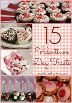 15 Valentine's Day Treats - Southern Girl Ramblings