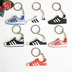 Silicone Jordan Key Chain Superstars Keychain For Men Woman Sneaker Key Holder Keyring Gift Key Chain -- To view further for this item, visit the image link.