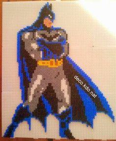Batman hama perler beads by Deco.Kdo.Nat