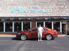 TAMARA AND WILLIAM's new 2014 ford fusion! Congratulations and best wishes from Jay Hatfield Ford and DAVID HARRISON.