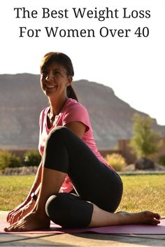 The best weight loss plan for women over 40.