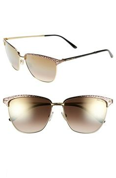 Jimmy Choo 57mm Retro Sunglasses available at #Nordstrom