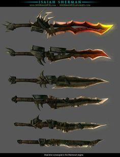 Espadas varias