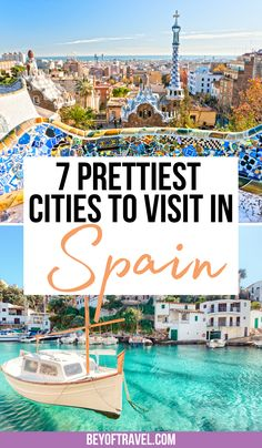 7 Beautiful Cities to Visit in Spain | beautiful cities in spain | most beautiful cities in spain | beautiful spain cities | spanish cities beautiful | beautiful places in spain cities | spain beautiful places cities | barcelona spain photography beautiful cities | prettiest cities in spain | spain travel guide | what to do in spain travel guide | beautiful places in spain europe | beautiful places in spain cities | #spaintravel #spain Europe Destinations, Europe Travel Tips, Travel Info, Travel Goals, Places To Travel, European Vacation, European Travel, Beautiful Beautiful, Beautiful Places