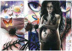 Love world 2013 color pensil on paper Paper, Illustration, Painting, Color, Art, Art Background, Colour, Painting Art, Illustrations