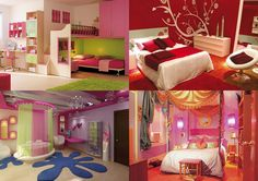 cute ideas for teenage girl's room