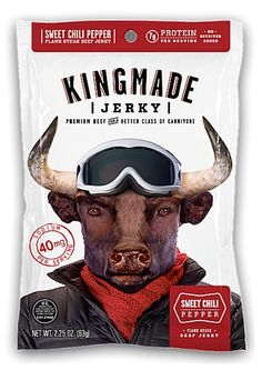 Discover how Kingmade Jerky – Sweet Chili Pepper beef jerky fared in a jerky review. http://jerkyingredients.com/2016/02/26/kingmade-jerky-sweet-chili-pepper-beef-jerky/ @kingmadejerky #kingmadejerky #beefjerky #review #food #jerky #ingredients #jerkyingredients #jerkyreview #beef #paleo #paleofood #snack #protein #snackfood #foodreview #chilipepper #pga #pgacaddie #lpgacaddie