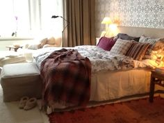 Lovely bedroom Bedroom, Furniture, Home Decor, Texture, Decoration Home, Room Decor, Bedrooms, Home Furnishings, Home Interior Design