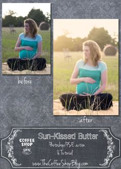 CoffeeShop Sun-Kissed Butter Action UnWrapped Tutorial!