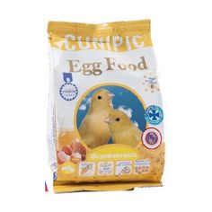 Egg Food pasta de cría con huevo para pájaros #pasta #cria #pajaros #huevo #granivoros