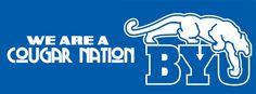 BYU Cougars Facebook Timeline Cover.