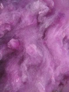 3 ozs Lavender Pink is a dyed blend of fibers loose by fraydknot, $12.50