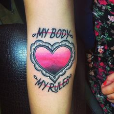 I have been wanting a feminist/self love tattoo