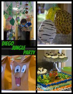 Reading Confetti: Diego Jungle Birthday Party!