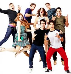 No cast is better than the Teen Wolf cast. #Moonday