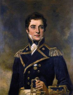 """""""Captain William Gordon Rutherford by Peter Gordon Hay National Maritime Museum Adele, Master And Commander, Man Of War, Maritime Museum, Men In Uniform, Old Paintings, Sketch Painting, Royal Navy, Portrait Art"""