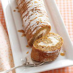 Pumpkin Cream Roll: Yum!