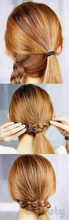 hair style for long hairs