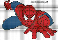 Superheroes Cross stitch - Spider-Man