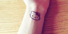 20 Tatuajes de Hello Kitty que se verían hermosos para siempre en tu piel