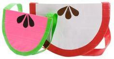 Duct tape watermelon purse