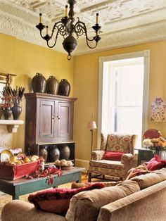 living room paint job love the ceiling and wall color