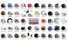 """""""Fashion Touchdown,"""" by Bloomingdale's puts the fantasy in football... -- These """"48 haute couture helmets"""" by """"a team of your favorite designers,"""" are being auctioned off before Super Bowl XLVIII to support the NFL Foundation, """"a non-profit organization...dedicated to improving the health and safety of sports, youth football and communities nationwide."""""""
