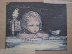 絵本作家・酒井駒子さん : 毎日NOTE Art Fantaisiste, Art Mignon, You Draw, Japan Art, Children's Book Illustration, Whimsical Art, Vintage Postcards, Cat Art, Comic Art