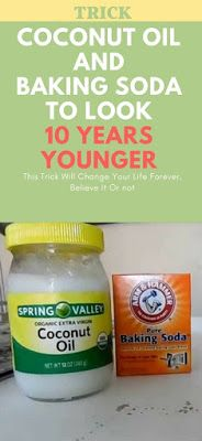 This Is How To Use Coconut Oil And Baking Soda. 2 teaspoons of extra virgin coconut oil. A teaspoon of baking soda.