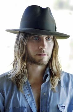 Jared Leto | Oh look, he's wearing a Wrangler cowboy workshirt.