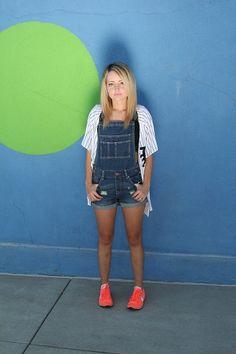 Jean overalls #fashion #style #blogger #fashionblogger