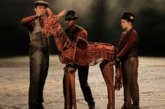war horse - wouldn't dream of looking at the movie - a complete mistake of what the play the book was about.