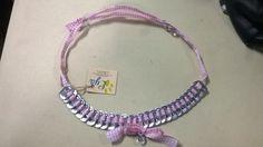 Kivakiva Crochet Necklace, Unique, Jewelry, Fashion, Moda, Jewlery, Jewerly, Fashion Styles, Schmuck