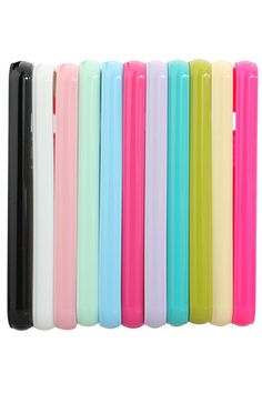 ROMWE | Pure Colors Silicone Gel Soft Back Case Cover For iPhone 5 5G, The Latest Street Fashion  #ROMWEROCOCO