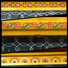 free hand gadapa designs Simple Rangoli Border Designs, Rangoli Borders, Rangoli Designs Diwali, Rangoli Designs Images, Rangoli Designs With Dots, Kolam Rangoli, Beautiful Rangoli Designs, Simple Designs, Lotus Rangoli
