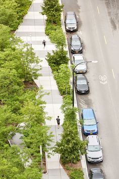 How can urban streetscapes adapt to the ecological challenges of the twenty-first century? At Buffalo Niagara Medical Center, a monotonous urban environment was ecologically barren and lacking a unique identity. SCAPE worked as part of a larger team to re-establish a strong vegetated footprint for the site. Long angled planting beds maximize additional tree planting